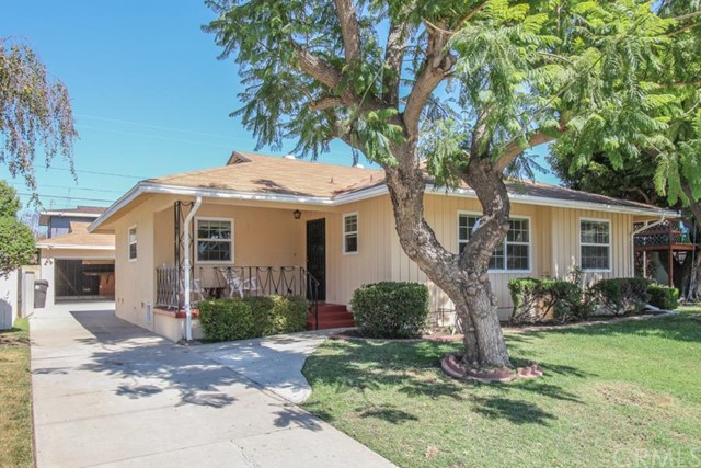 ***SINGLE FAMILY HOME IN HIGHLY DESIRABLE PLAZA AREA OF LONG BEACH***  This 3 bedroom, 1.75 bathroom home features include: 3 steps up to large front porch with sitting area (perfect for those warm summer evenings); formal entry with coat closet and access to a ¾ bathroom.  The large main hallway with floor to ceiling linen closet and affords access to a full bathroom with combination bath tub/shower and large bedrooms.  Off of the entry is the dining/living room combination with gas log brick fireplace, carpeted floors, gas wall heater and door out to wrap around porch with sitting area (ideal for entertaining), lushly landscaped backyard, 2 car detached garage and cinder block fencing.  To the left of the dining room is the kitchen with vinyl floors, double sink, new freestanding range, built-in breakfast nook and disposal.  Laundry/service room off of kitchen with rear door opening out to backyard and concrete driveway.  Additional improvements include: automatic sprinkler system in the front yard (manual at rear), new interior/exterior paint, new sewer and drain lines, copper plumbing, new double pained windows, new carpet (with original hardwood floors underneath) and much more!  DON'T MISS OUT ON THIS OPPORTUNITY!!!