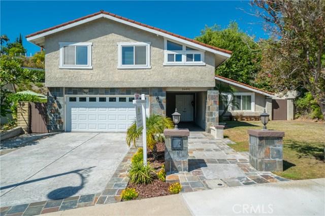 26891 Soria Circle Mission Viejo, CA 92691 - MLS #: OC18185652