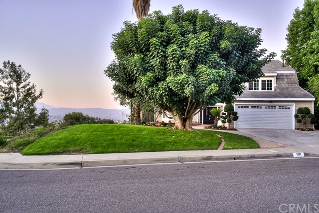 One of Anaheim Hills Homes for Sale at 5101 E Greensboro Lane, 92807