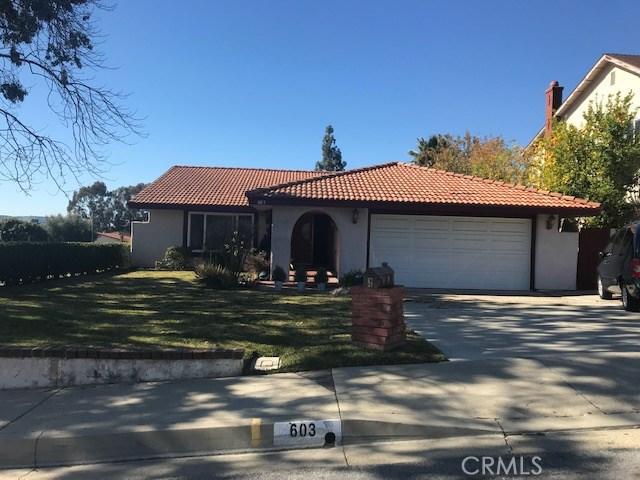 603  Green River Road, Walnut, California
