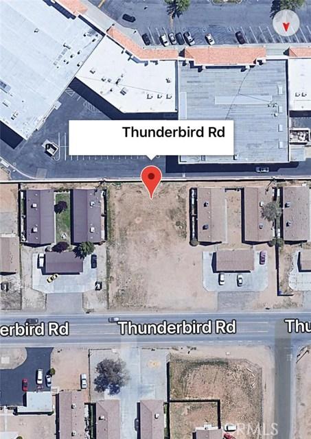 0 Thunderbird Road Apple Valley, CA 92307 - MLS #: IG18135321