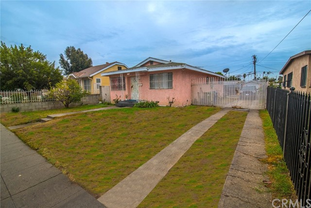 Single Family Home for Sale at 1782 W 37th Place 1782 W 37th Place Los Angeles, California 90018 United States
