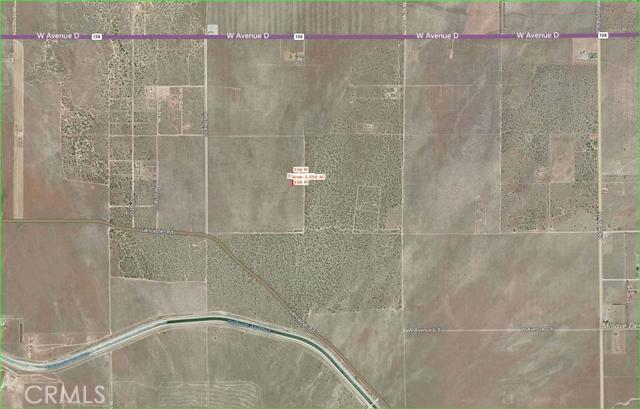 0 Vac/Cor 205 Stw Trail/Ave D12 Fairmont CA  93536