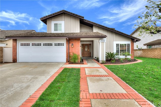 Single Family Home for Sale at 2524 Biscayne Place Fullerton, California 92833 United States