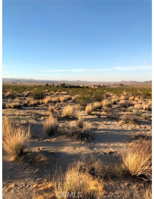 0 El Rey Joshua Tree, CA 92252 - MLS #: JT18279097
