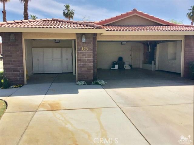 65 Camino Arroyo Palm Desert, CA 92260 - MLS #: 218013136DA