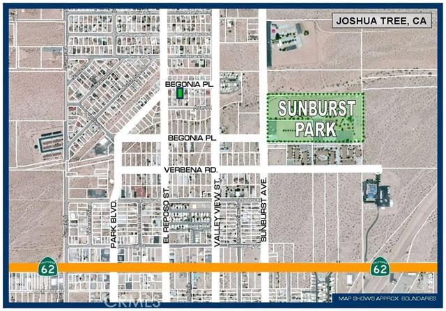 0 Begonia Place Joshua Tree, CA 92252 - MLS #: SW18106943