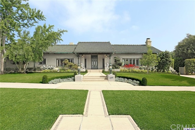 Single Family Home for Sale at 1188 Hillcrest Avenue Pasadena, California 91106 United States