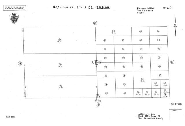 0 Goodwin approx 29 Palms, CA 0 - MLS #: CV18264400
