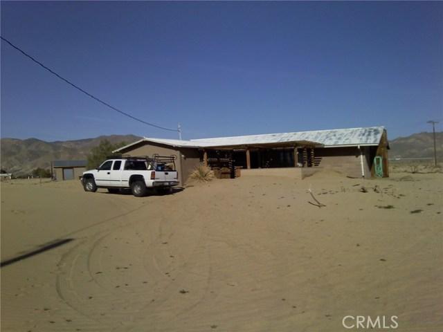 Casa Unifamiliar por un Venta en 7890 Munsey Road Cantil, California 93519 Estados Unidos