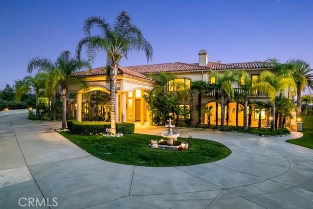Casa Unifamiliar por un Venta en 100 Oak Knoll Lane Bradbury, California 91008 Estados Unidos