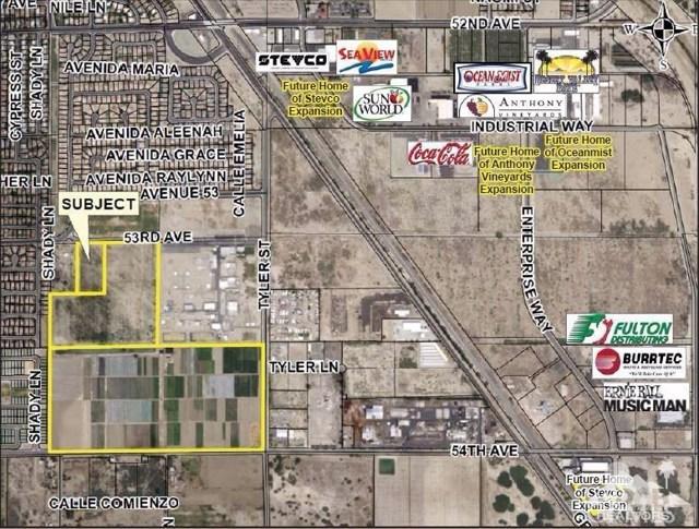 Land for Sale at Avenue 54 Coachella, California 92236 United States