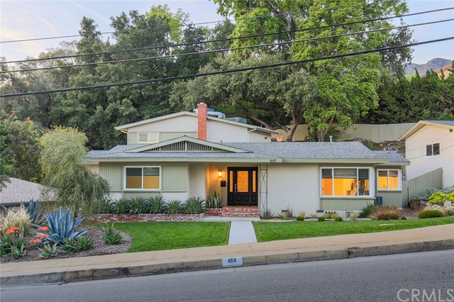 Single Family Home for Sale at 469 Canyon Boulevard N Monrovia, California 91016 United States