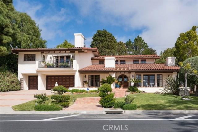 1492 Via Coronel, Palos Verdes Estates CA 90274