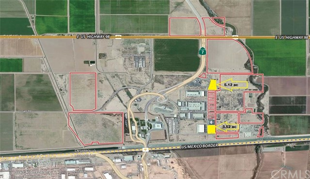 Land for Sale at 458 Rood Road Calexico, California 92231 United States