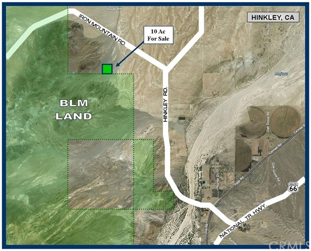 0 Near Iron Mountain Road Hinkley, CA 0 - MLS #: SW17243194