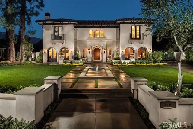 Single Family Home for Sale at 730 Chester Avenue San Marino, California 91108 United States
