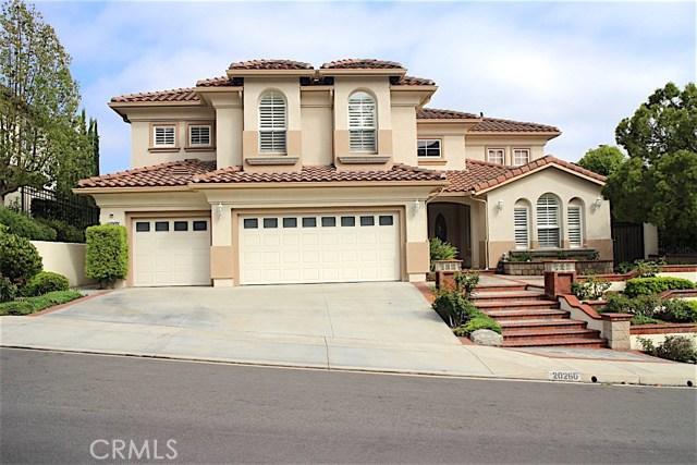 Single Family Home for Rent at 20260 Kline Lane Yorba Linda, California 92887 United States