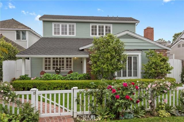 2612 Circle Drive, Newport Beach, CA 92663