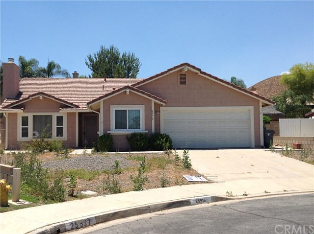 Single Family Home for Sale at 25515 Orion Court Sun City, California 92586 United States