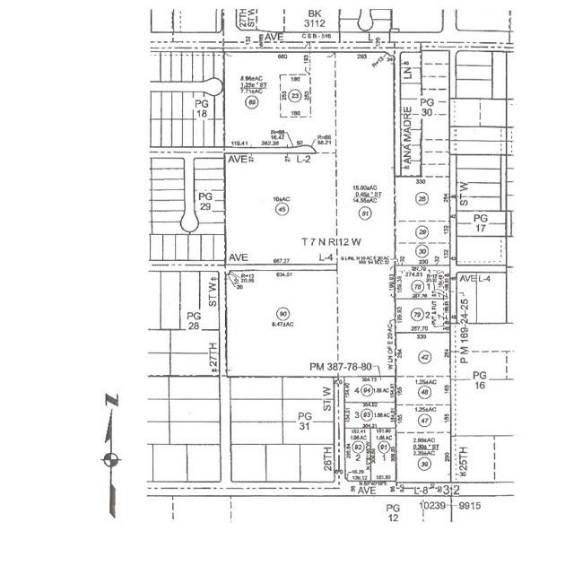土地,用地 为 销售 在 Vac/Ave L Pav /Vic 26th Stw 兰开斯特, 93534 美国