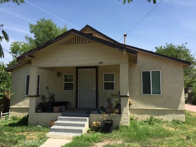 Single Family for Sale at 641 J Street N San Bernardino, California 92411 United States