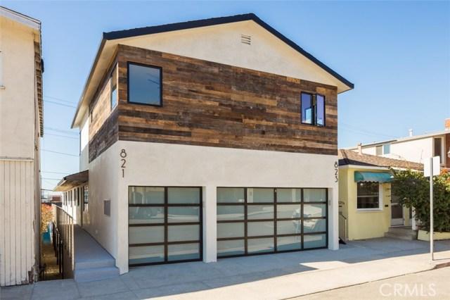 Single Family Home for Sale at 821 Manhattan Avenue 821 Manhattan Avenue Hermosa Beach, California 90254 United States