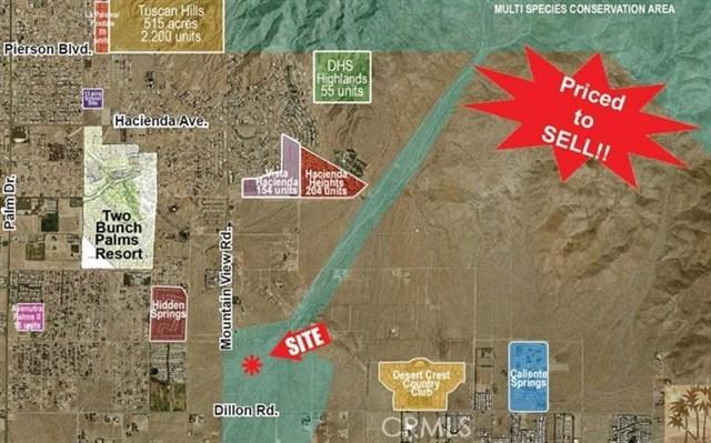 5.06 ac Sunland Rd Sky Valley, CA 92241 - MLS #: 21470169DA