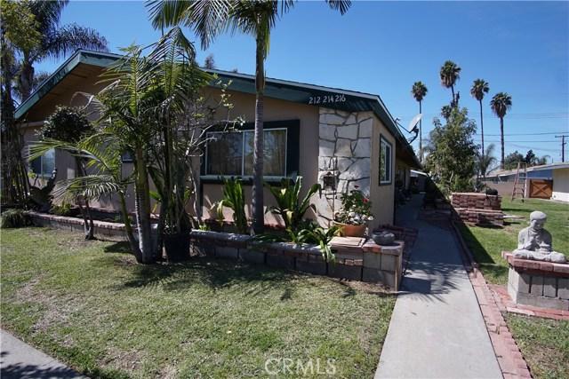 212 S Park Lane  Orange CA 92866