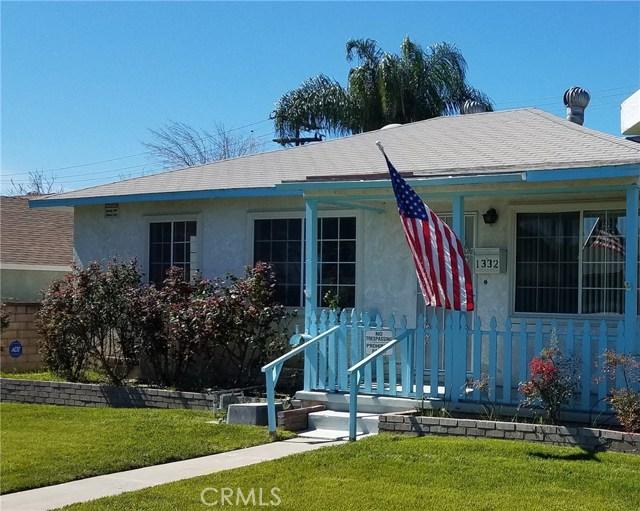 Single Family Home for Sale at 1332 Pepper Tree Lane San Bernardino, California 92410 United States