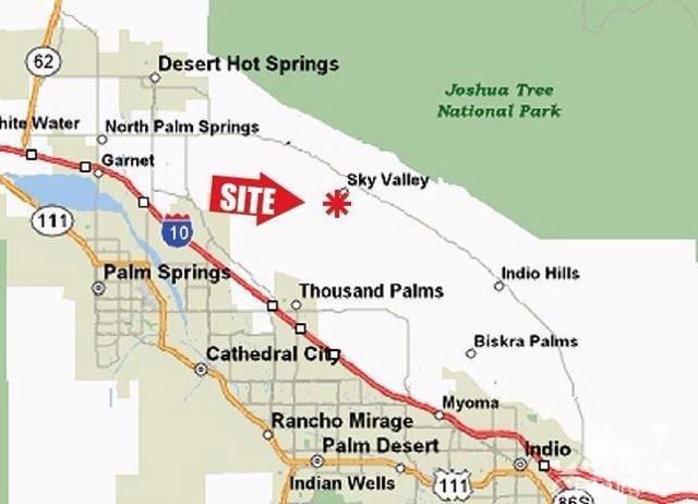 60 Bennett Rd Sky Valley, CA 92241 - MLS #: 217020800DA
