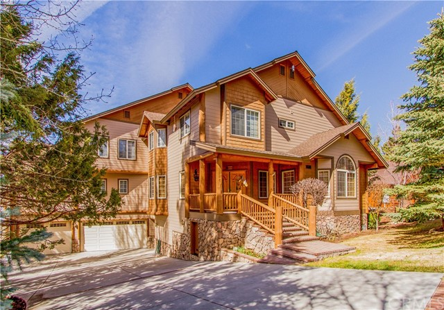 Single Family Home for Sale at 42012 Eagles Nest Big Bear, California 92315 United States