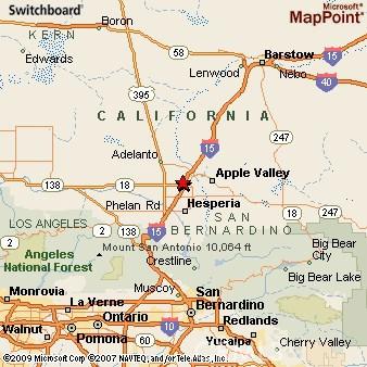15 Fwy Dale Evans Pkwy > Wild Wash Rd, Hesperia, CA 00000