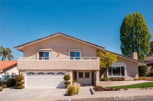 25481 Gloriosa Drive, Mission Viejo, CA 92691