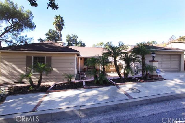 1853 Las Flores Drive Glendale, CA 91207 - MLS #: 317007505