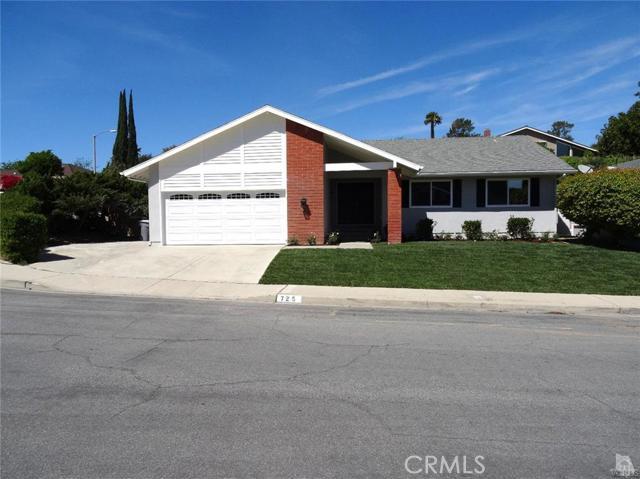 725 San Andres Circle Thousand Oaks CA  91360