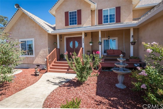 Single Family Home for Sale at 503 Los Verjeles Road Bangor, California 95914 United States