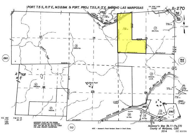 土地,用地 为 销售 在 Hornitos Mt. Bullion Toll Road Hornitos Mt. Bullion Toll Road Bear Valley, 加利福尼亚州 95338 美国