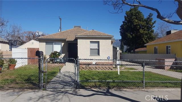Single Family Home for Sale at 1130 Evans Street W San Bernardino, California 92411 United States