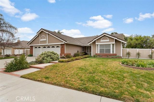 Photo of home for sale at 21710 Potomac Avenue, Yorba Linda CA