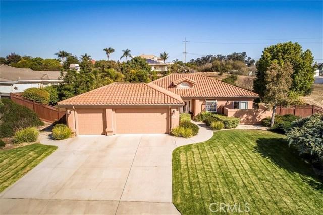2620  Appaloosa Way, Arroyo Grande in San Luis Obispo County, CA 93420 Home for Sale