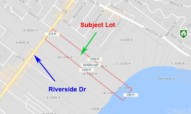 Land for Sale at 31360 Riverside Drive Lake Elsinore, United States
