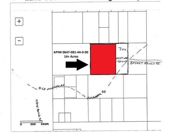 Detail Gallery Image 1 of 2 For 0 Old Parker Rd, Unincorporated,  CA 92225 - – Beds | – Baths
