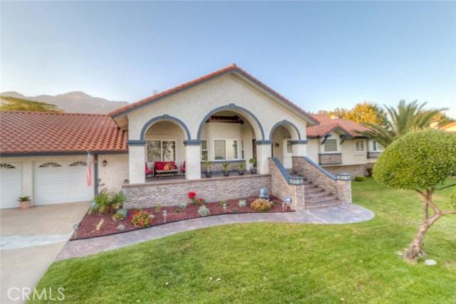 Single Family Home for Sale at 10922 Wilson Avenue Alta Loma, California 91737 United States