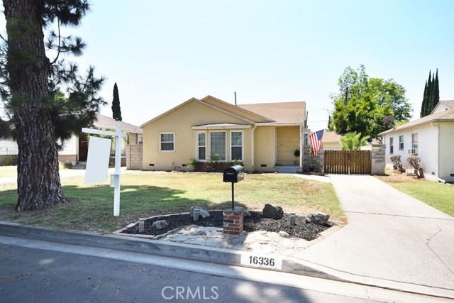 16336 E Bellbrook Street, Covina, CA 91722