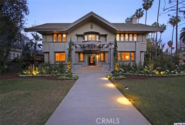 Single Family Home for Sale at 280 Orange Grove Boulevard S Pasadena, California 91105 United States