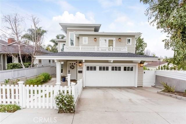 Single Family Home for Rent at 1709 Oak Avenue Manhattan Beach, California 90266 United States