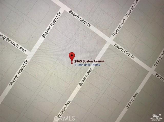2965 Boston Avenue Thermal, CA 92274 - MLS #: 217020350DA