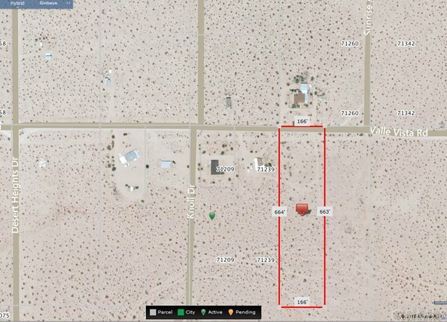 Additional photo for property listing at 71241 Valle Vista Road  29 Palms, California 92277 United States