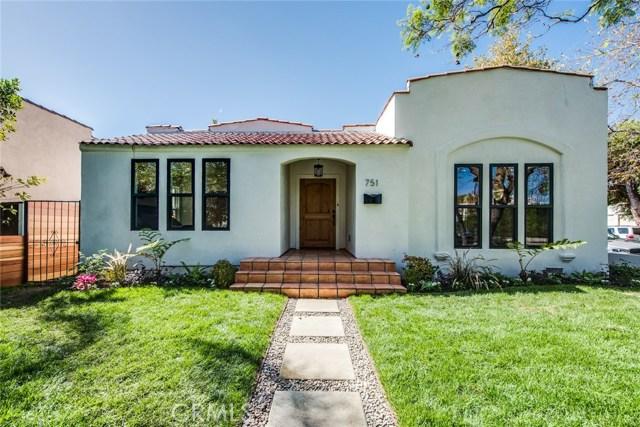 751 N Fuller Avenue Los Angeles, CA 90046 - MLS #: RS17232959